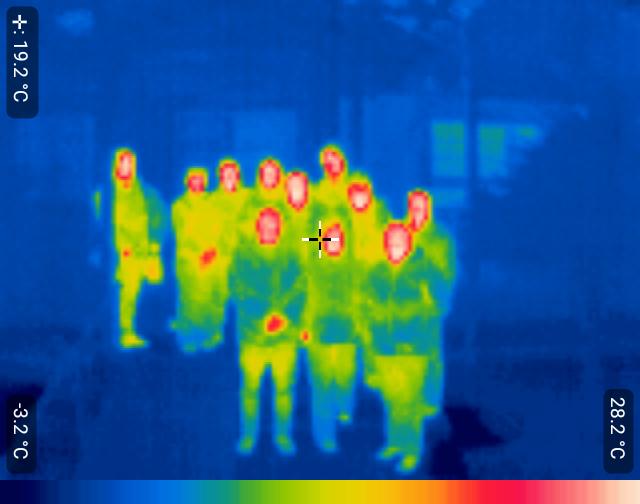 foto termica con los reos